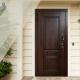 Klasikinio stiliaus medinės lauko durys