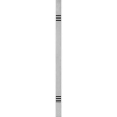 Patraukiama rankena nr 12 tiesi metalic 80 cm