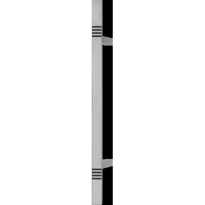 Patraukiama rankena nr 13 įstriža metalic 80 cm