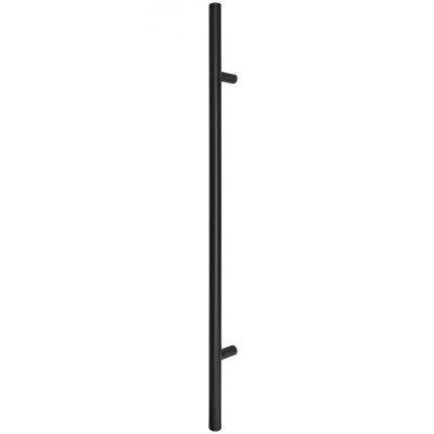 Patraukiama rankena nr 19 įstriža juoda 120 cm