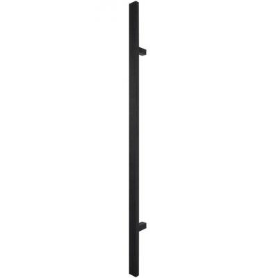 Patraukiama rankena nr 21 įstriža juoda 120 cm