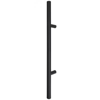 Patraukiama rankena nr 23 įstriža juoda 80 cm